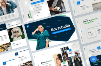 Novastudio – Client Welcome Guide Keynote Presentation Template