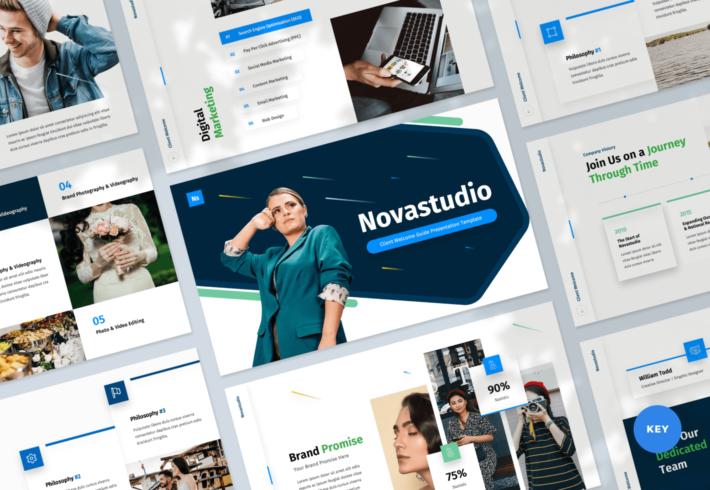 Novastudio – Client Welcome Guide Keynote Presentation Template