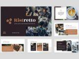 Coffee Shop & Cafe Presentation Mission Slide