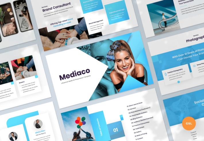 Mediaco – Media Kit Google Slides Presentation Template