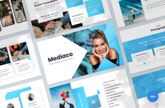Mediaco – Media Kit Keynote Presentation Template