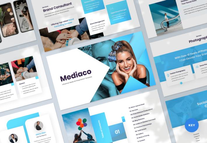 Mediaco – Media Kit Keynote Presentation Template