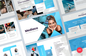 Mediaco – Media Kit PowerPoint Presentation Template