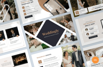Weddingly – Wedding Planner Google Slides Presentation Template