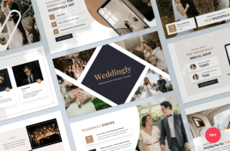 Weddingly – Wedding Planner PowerPoint Presentation Template