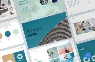 The Brand Guide – Branding Guideline Keynote Presentation Template