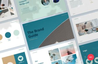 The Brand Guide – Branding Guideline PowerPoint Presentation Template