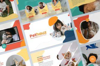 Pethauz – Pet Care Google Slides Presentation Template