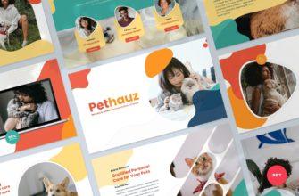 Pethauz – Pet Care PowerPoint Presentation Template