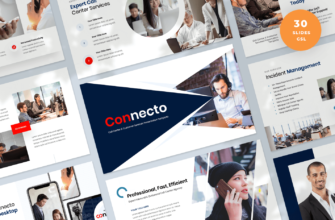 Connecto – Call Center and Customer Services Google Slides Presentation Template