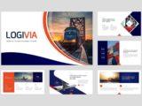 Logistics & Transport Presentation About Us Slide