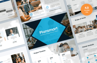Plansmart – Marketing Plan Google Slides Presentation Template