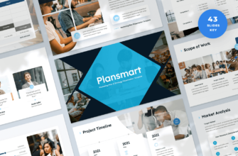 Plansmart – Marketing Plan Keynote Presentation Template