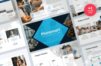 Plansmart – Marketing Plan PowerPoint Presentation Template