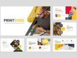 Printing Company Presentation About Us Slide