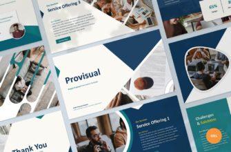 Provisual – Project Proposal Google Slide Presentation Template