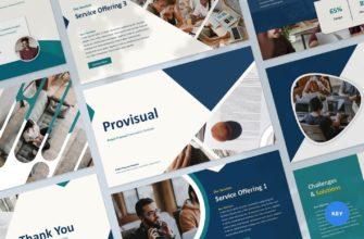 Provisual – Project Proposal Keynote Presentation Template