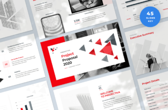 Projectiva – Project Proposal Keynote Presentation Template