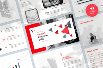 Projectiva – Project Proposal PowerPoint Presentation Template