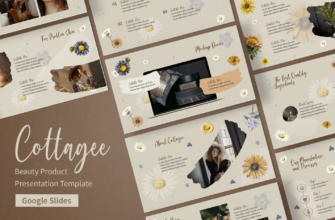 Cottagee – Beauty Product Google Slides Presentation Template