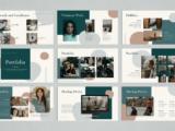 CV Presentation Portfolio Slide