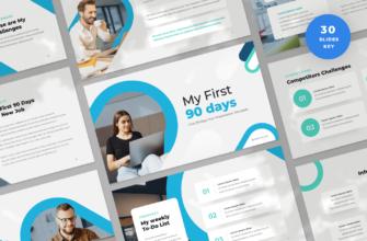 First 90 Days Keynote Presentation Template
