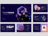 IT & Technology Company Presentation About Us Slide