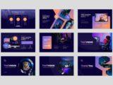 IT & Technology Company Presentation Mockups Slide