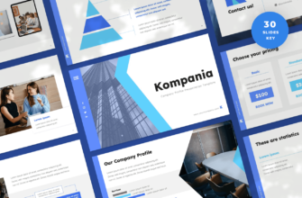 Kompania – Company Profile Keynote Presentation Template