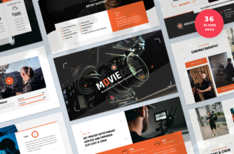 Moviecore – Movie Studio and Film Maker PowerPoint Presentation Template