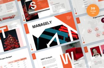 Managely – Project Management Google Slides Presentation Template