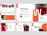 Project Management Presentation SWOT Analysis Slide