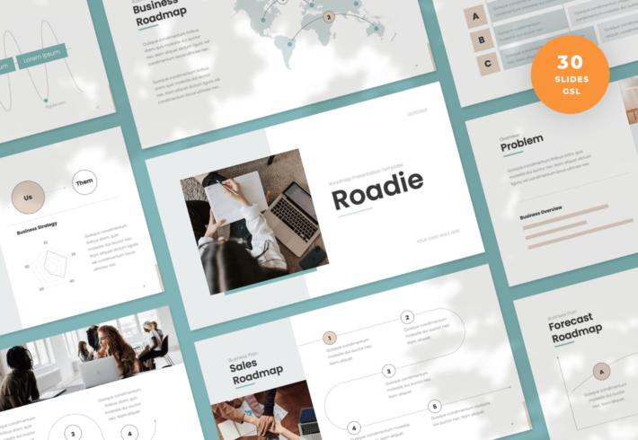 Roadie – Roadmap Slides Presentation Template