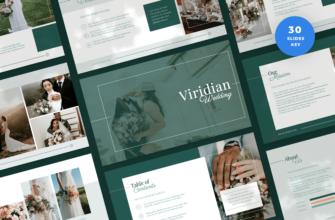 Viridian – Wedding Keynote Presentation Template