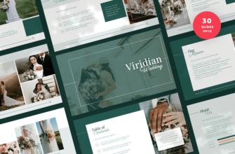 Viridian – Wedding PowerPoint Presentation Template