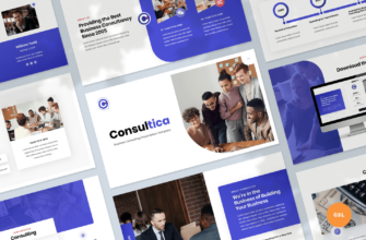 Consultica – Business Consulting Google Slides Presentation Template