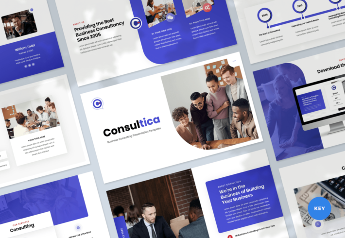 Consultica – Business Consulting Keynote Presentation Template