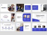 Business Consulting Presentation About Us Slide