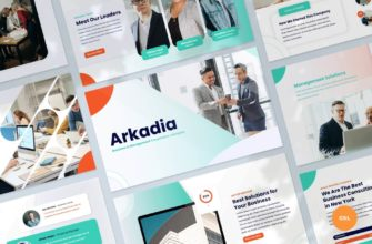 Arkadia – Business and Management Google Slides Presentation Template