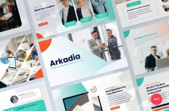 Arkadia – Business and Management PowerPoint Presentation Template