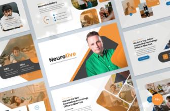 Neurotive – Counseling Psychology Office Google Slides Presentation Template