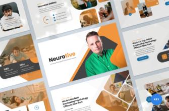 Neurotive – Counseling Psychology Office Keynote Presentation Template