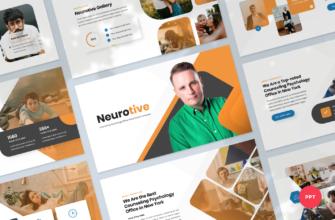 Neurotive – Counseling Psychology Office PowerPoint Presentation Template