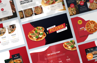 Pizzeria – Pizza and Fast Food Google Slides Presentation Template