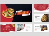 Pizza and Fast Food Presentation About Us Slide