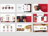 Pizza and Fast Food Presentation Menu Slide