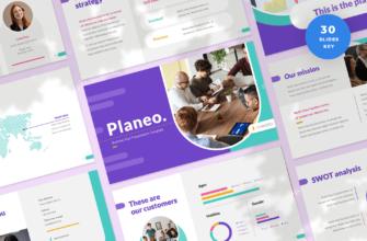 Planeo – Business Plan Keynote Presentation Template