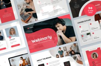 Webinarly – Webinar and eCourse PowerPoint Presentation Template
