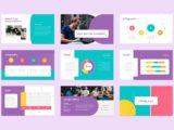 eCourse and Webinar Presentation infographics slide