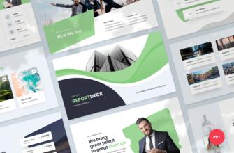 Reportdeck – Annual Report PowerPoint Presentation Template